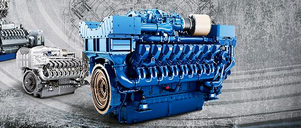 فروش دیزل ژنراتور MTU رولزرویس –  MTU Diesel Generator