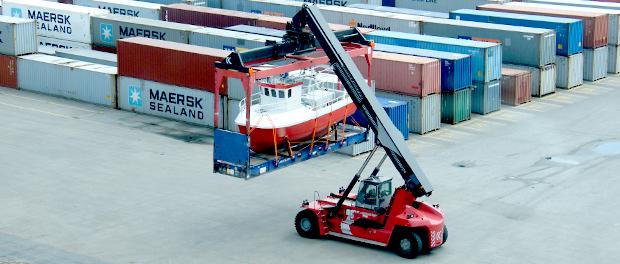 ریچ استاکر و تجهیزات حمل و نقل بندر در شاپ شهباز